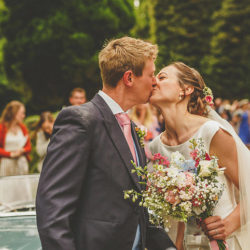 A fabulous summer fete wedding for Lara & Rich with Howell Jones Photography