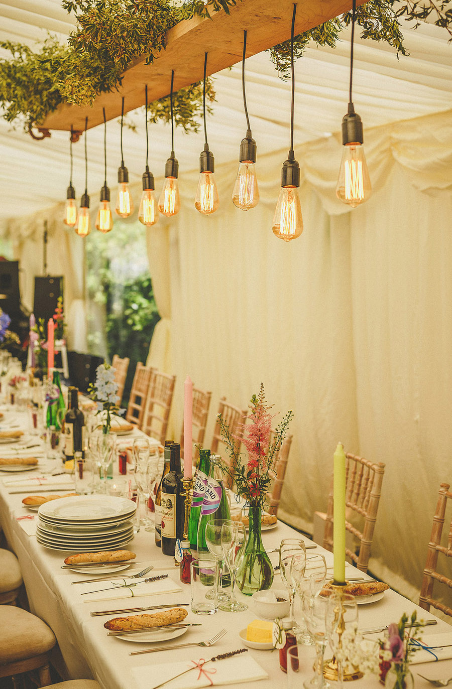 Summer fete wedding style from beautiful Somerset. Images by Somerset wedding photographer Howell Jones Photography (22)