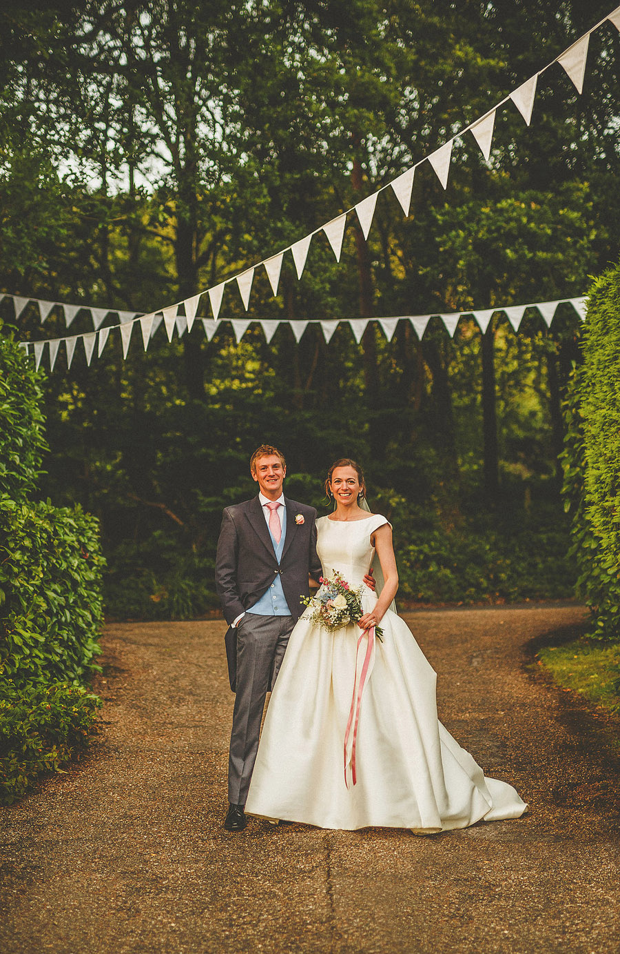 Summer fete wedding style from beautiful Somerset. Images by Somerset wedding photographer Howell Jones Photography (44)