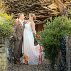Charlotte and Pete's colourful and eclectic wedding in Sussex, with Helen England Photography