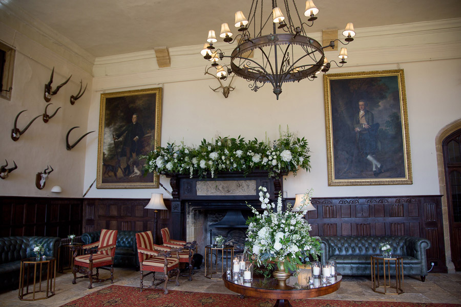 Gorgeous white and green styling for a Brympton House wedding with Martin Dabek Photography (10)