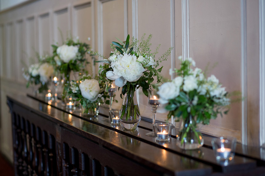 Gorgeous white and green styling for a Brympton House wedding with Martin Dabek Photography (17)