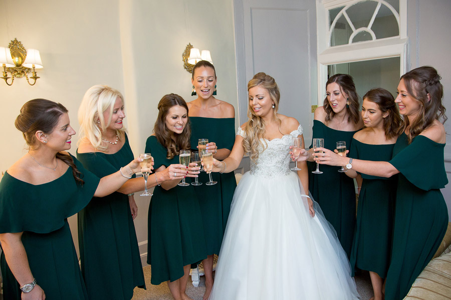 Gorgeous white and green styling for a Brympton House wedding with Martin Dabek Photography (15)