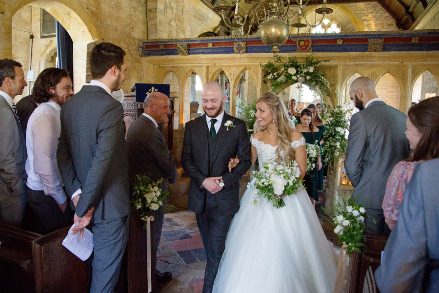 Gorgeous white and green styling for a Brympton House wedding with Martin Dabek Photography (29)