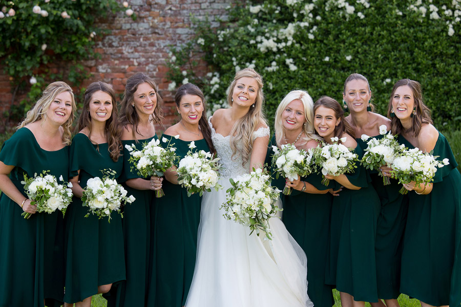 Gorgeous white and green styling for a Brympton House wedding with Martin Dabek Photography (42)