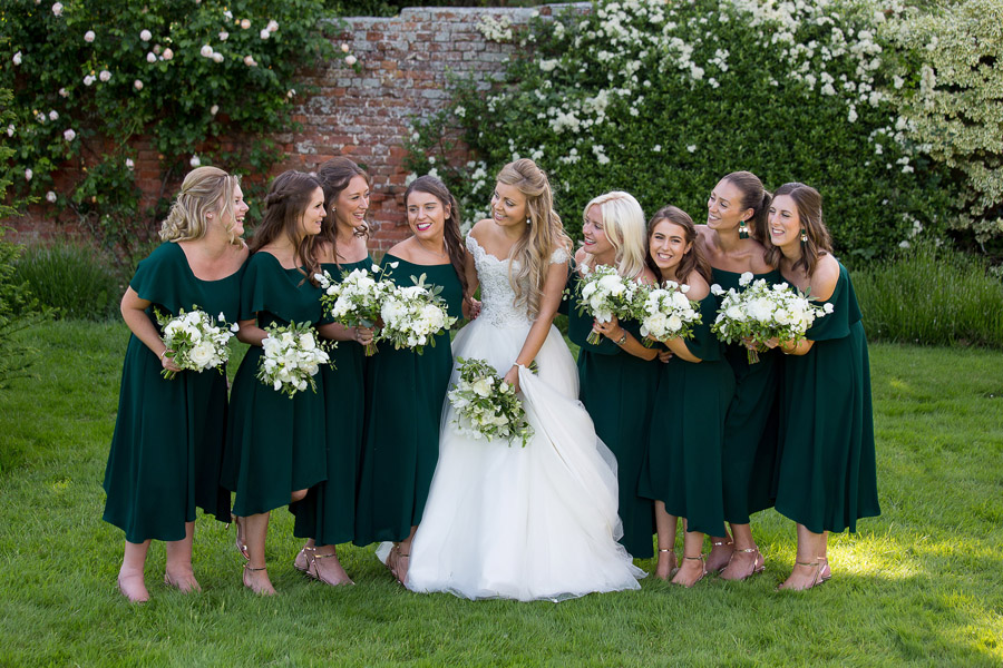 Gorgeous white and green styling for a Brympton House wedding with Martin Dabek Photography (12)