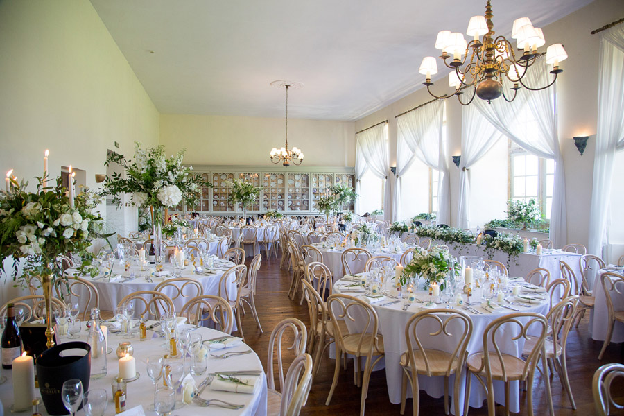 Gorgeous white and green styling for a Brympton House wedding with Martin Dabek Photography (38)