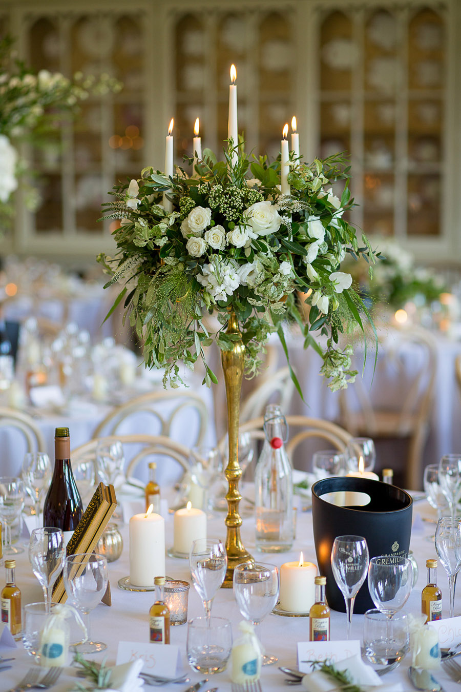 Gorgeous white and green styling for a Brympton House wedding with Martin Dabek Photography (35)