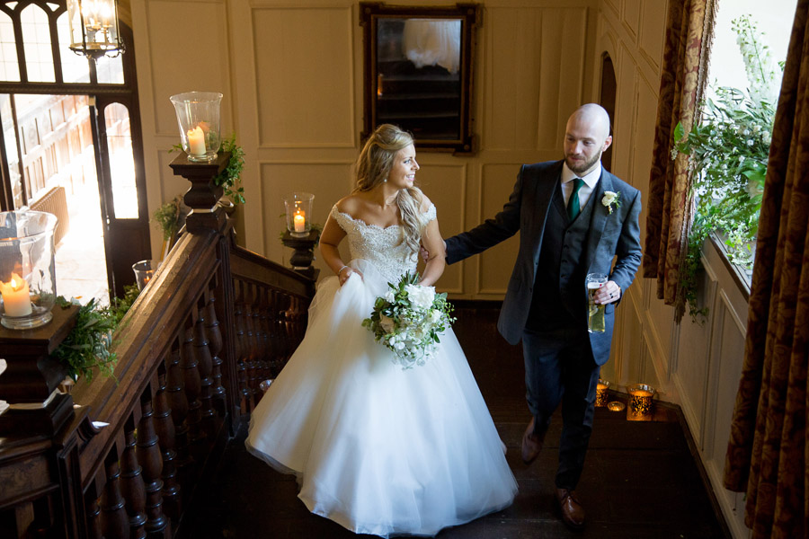 Gorgeous white and green styling for a Brympton House wedding with Martin Dabek Photography (14)