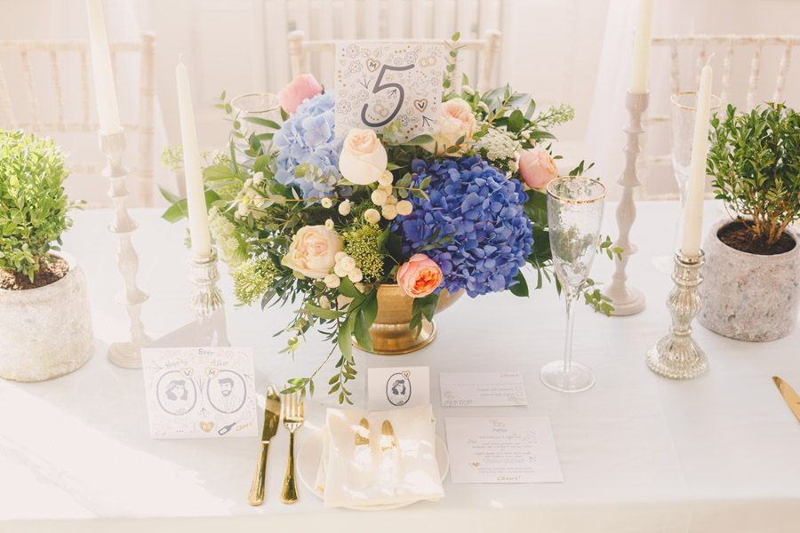 Yorkshire wedding styling and recommended suppliers at Bawtry Hall, image credit Eternal Images Photography (9)