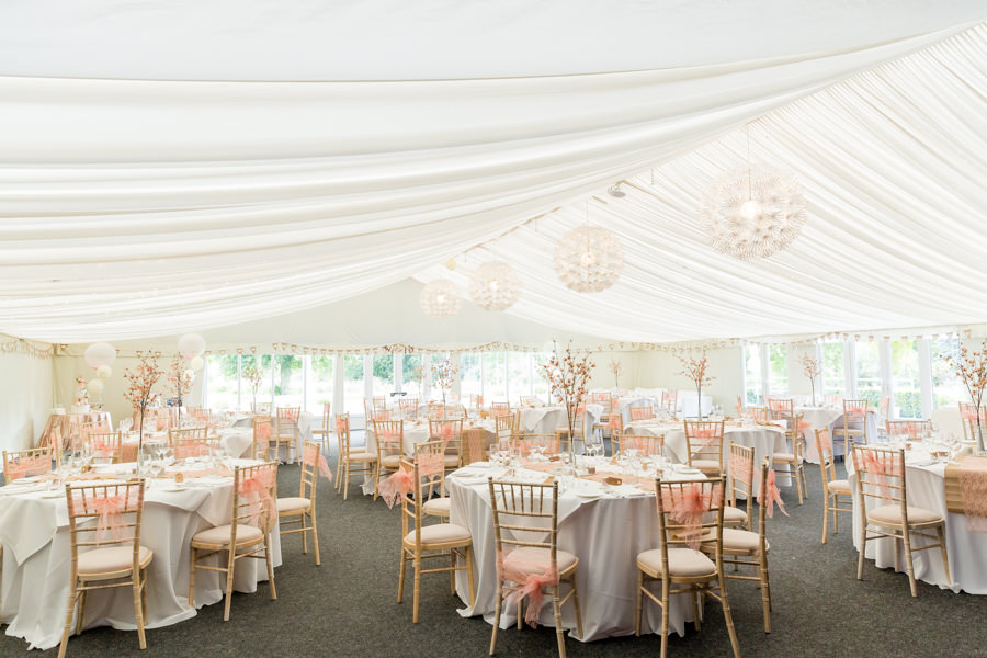 Elegant styling and sparkly tables for a pretty Chippenham Park wedding, images by Heather Jackson Photography (32)