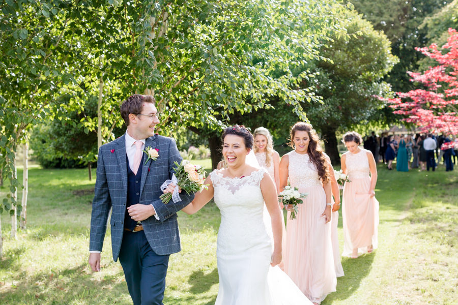 Elegant styling and sparkly tables for a pretty Chippenham Park wedding, images by Heather Jackson Photography (16)