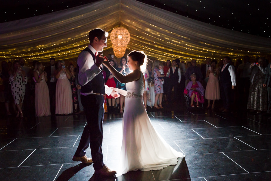 Elegant styling and sparkly tables for a pretty Chippenham Park wedding, images by Heather Jackson Photography (1)
