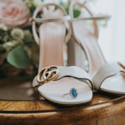 Sarah & Alex's intimate church wedding in Essex, with Grace Elizabeth