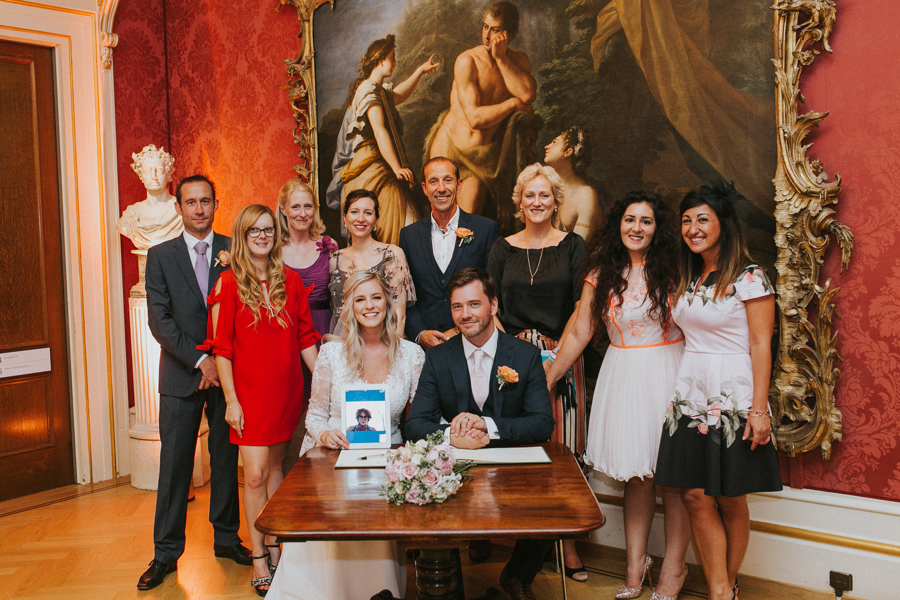 Ginger and Jamie's Ashmolean Museum wedding in Oxford, photo credit MT Studio Photography (20)