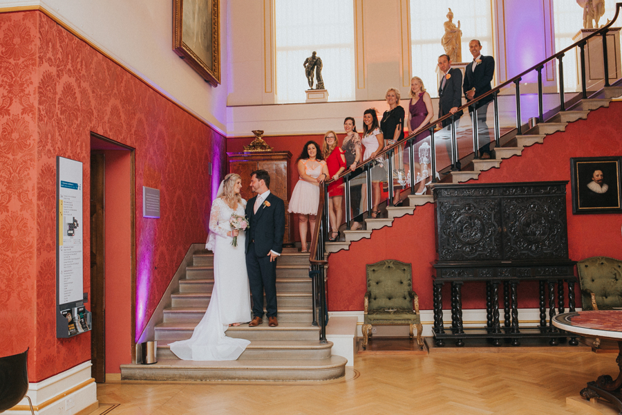 Ginger and Jamie's Ashmolean Museum wedding in Oxford, photo credit MT Studio Photography (23)