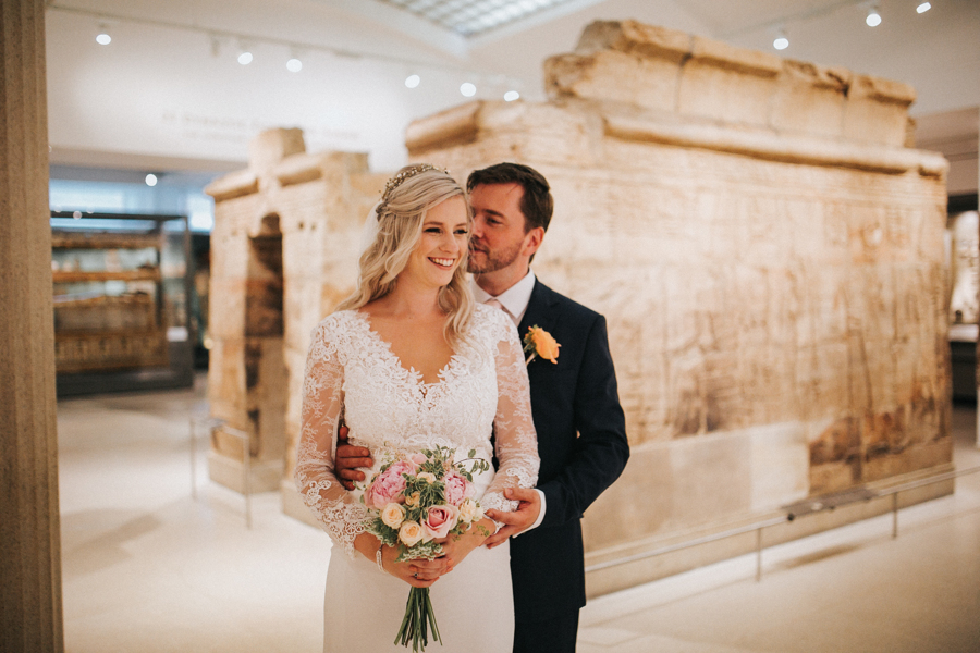 Ginger and Jamie's Ashmolean Museum wedding in Oxford, photo credit MT Studio Photography (33)