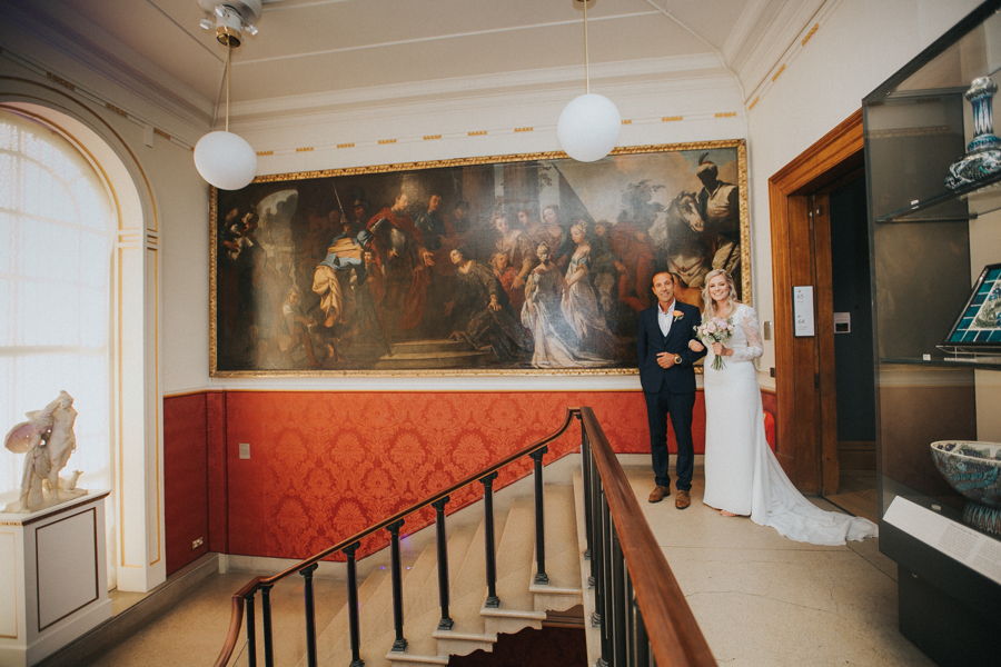 Ginger and Jamie's Ashmolean Museum wedding in Oxford, photo credit MT Studio Photography (9)