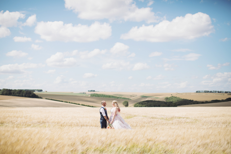 Crazy fun DIY festival wedding in Yorkshire with Sasha Lee Photography (31)