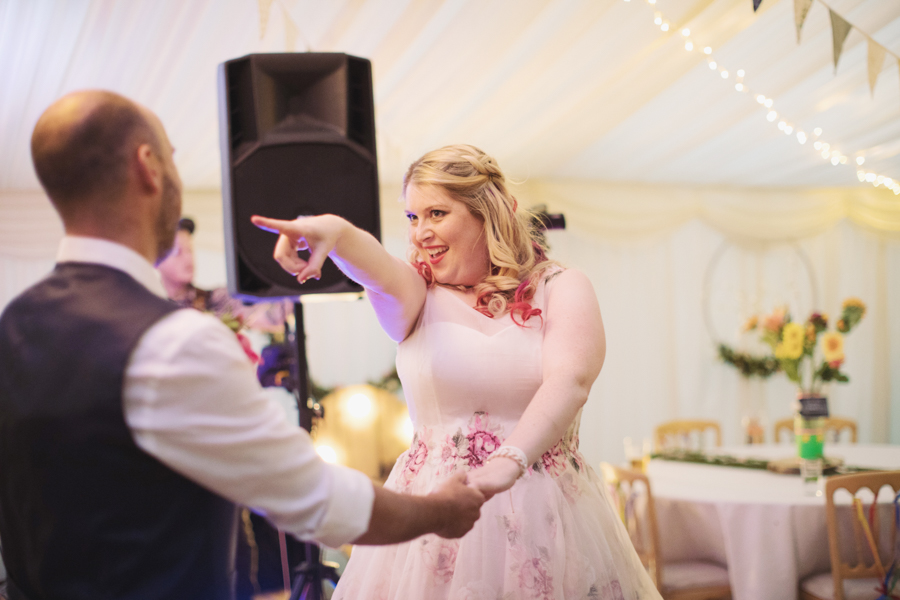 Crazy fun DIY festival wedding in Yorkshire with Sasha Lee Photography (43)