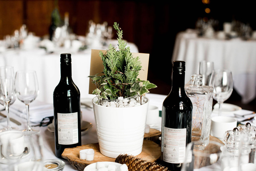 Beautiful festive wedding styling with greenery, image by Nicola Norton Photography (6)