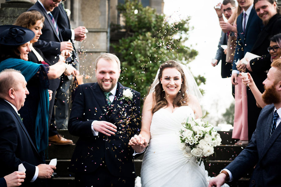 Beautiful festive wedding styling with greenery, image by Nicola Norton Photography (12)