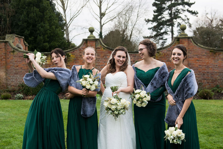 Beautiful festive wedding styling with greenery, image by Nicola Norton Photography (13)