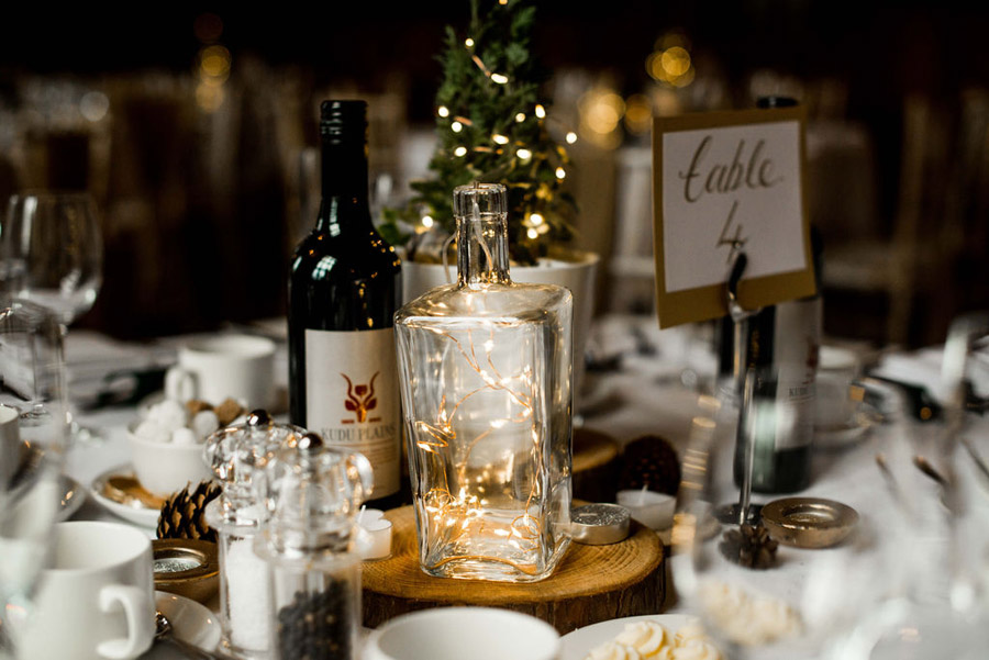 Beautiful festive wedding styling with greenery, image by Nicola Norton Photography (23)