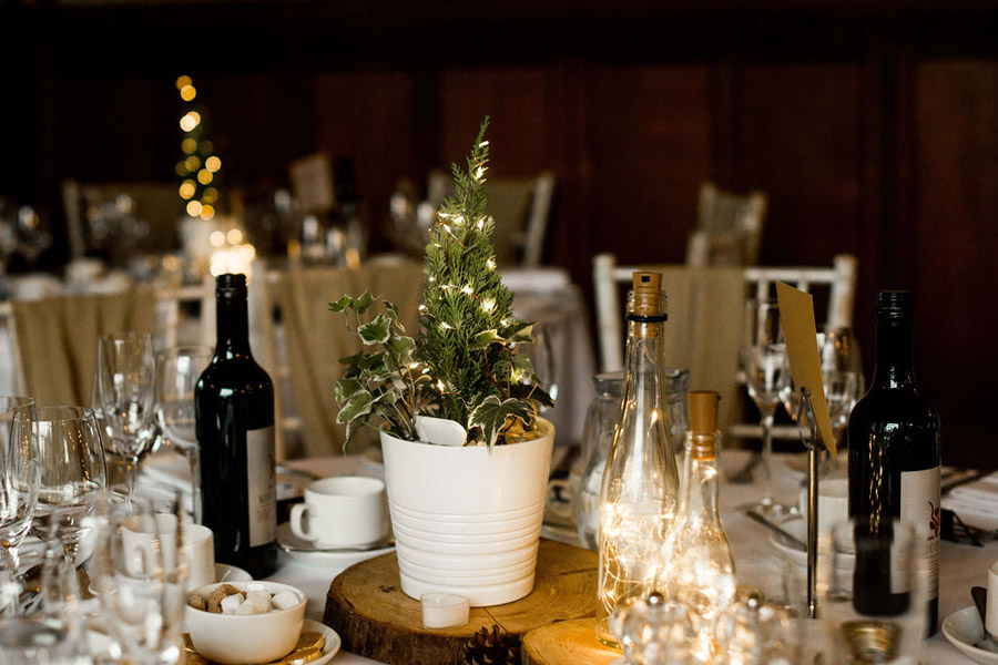 Beautiful festive wedding styling with greenery, image by Nicola Norton Photography (24)