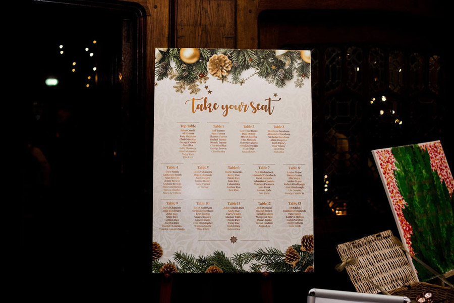 Beautiful festive wedding styling with greenery, image by Nicola Norton Photography (29)