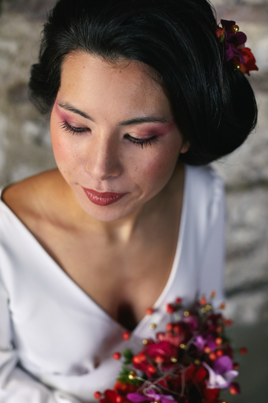 Wedding inspiration with a Japanese cultural twist on the English Wedding Blog (4)