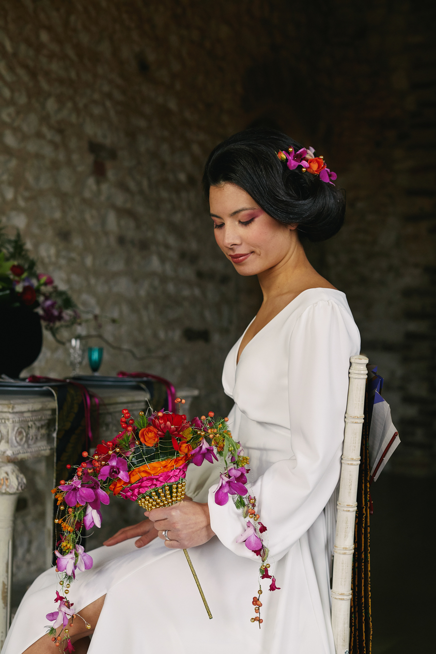 Wedding inspiration with a Japanese cultural twist on the English Wedding Blog (26)