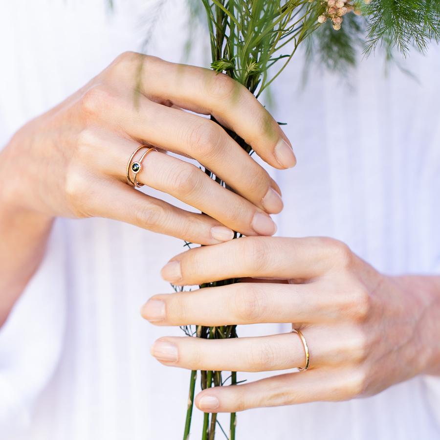 beautiful artisan wedding rings made in the UK by Nikki Stark Jewellery (6)