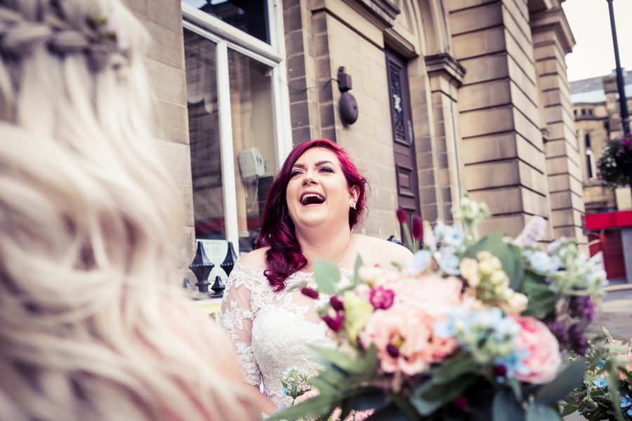 Gorgeous mixed summer florals for a romantic countryside wedding near Huddersfield, with Photography by Kathryn (14)