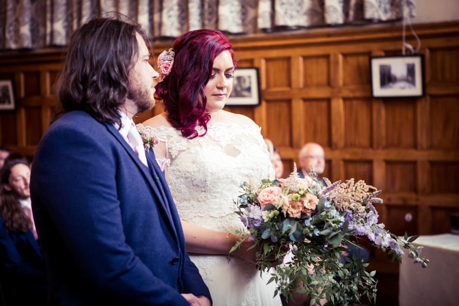 Gorgeous mixed summer florals for a romantic countryside wedding near Huddersfield, with Photography by Kathryn (16)