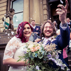 Steph & Rob's flower-filled Yorkshire wedding, with Photography by Kathryn