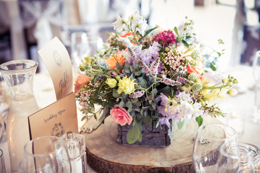 Gorgeous mixed summer florals for a romantic countryside wedding near Huddersfield, with Photography by Kathryn (22)