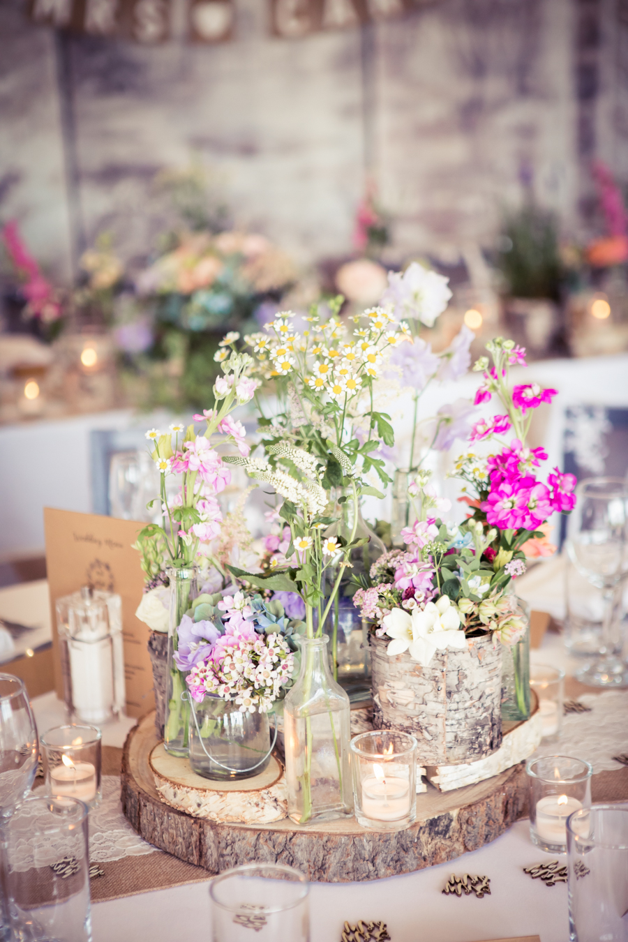 Gorgeous mixed summer florals for a romantic countryside wedding near Huddersfield, with Photography by Kathryn (31)