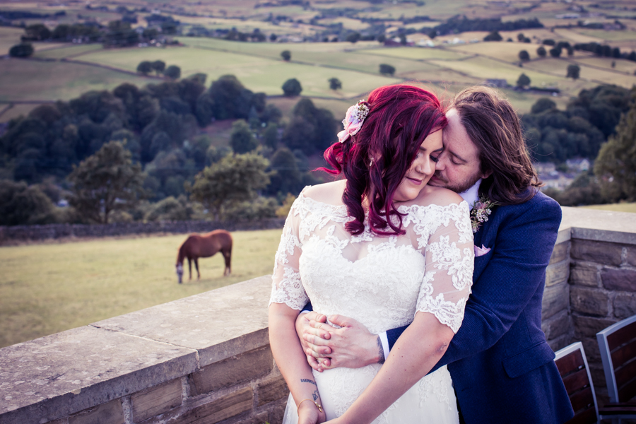 Gorgeous mixed summer florals for a romantic countryside wedding near Huddersfield, with Photography by Kathryn (35)