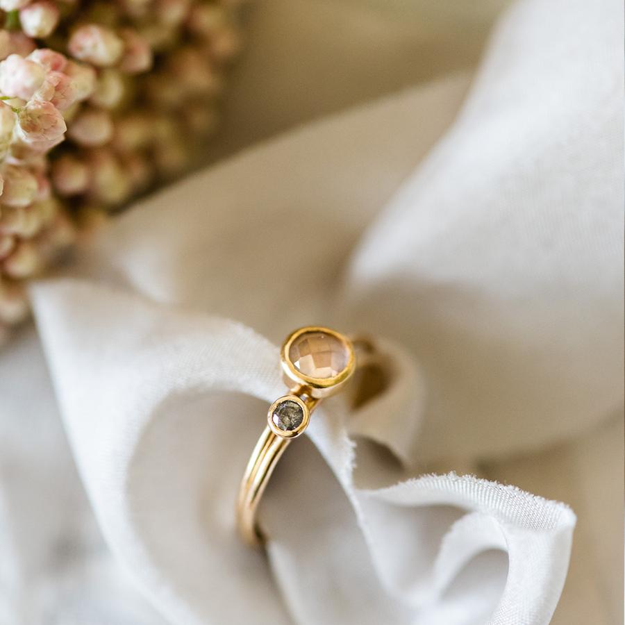 beautiful artisan wedding rings made in the UK by Nikki Stark Jewellery (7)