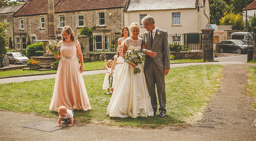 Somerset garden wedding with a beautiful designer dress, photo credit Howell Jones Photography (16)
