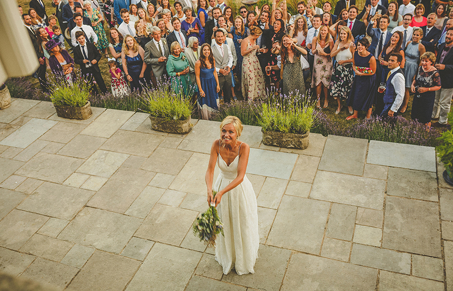 Somerset garden wedding with a beautiful designer dress, photo credit Howell Jones Photography (36)