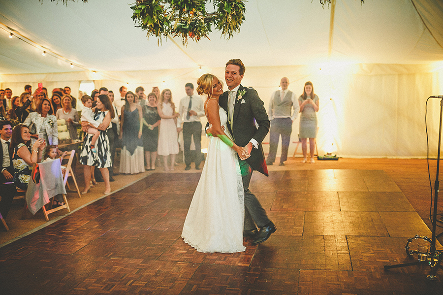 Somerset garden wedding with a beautiful designer dress, photo credit Howell Jones Photography (41)
