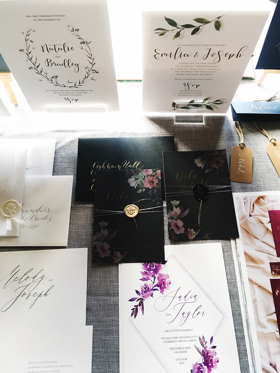 Askham Hall's recommended wedding calligrapher and stationery designer (3)