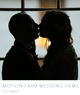 Motion Farm wedding videographers in Cornwall, Devon, Bristol