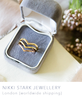 skinny wedding bands uk by nikki stark jewellery london