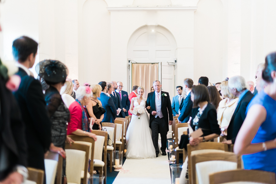 Light and airy, romantic images from a blogger's dream wedding at Blenheim Palace! Photo credit Julie Michaelsen Photography (23)