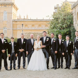 Kate & Aiden's breathtaking Blenheim Palace wedding, with Julie Michaelsen Photography