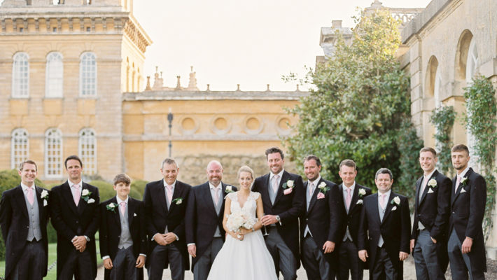 Light and airy, romantic images from a blogger's dream wedding at Blenheim Palace! Photo credit Julie Michaelsen Photography (29)