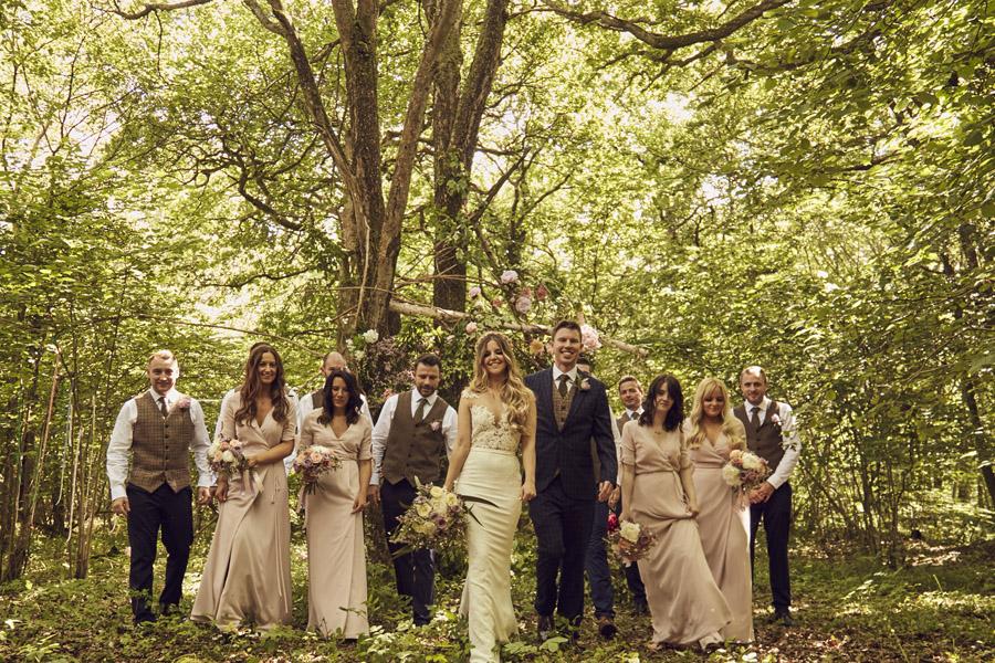 Styled woodland wedding in Sussex, image credit Something Blue Weddings (2)